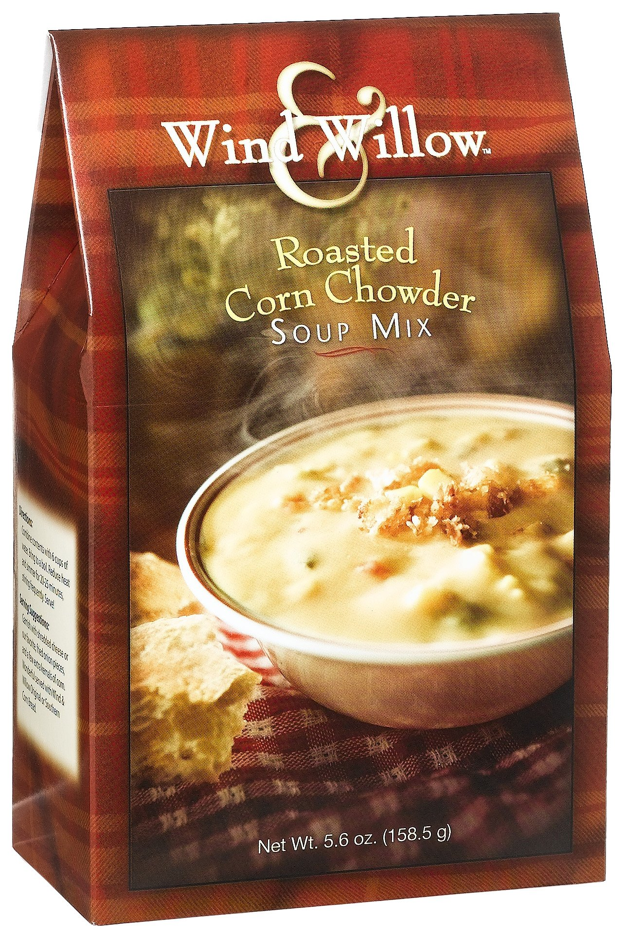 Wind & Willow Roasted Corn Chowder Soup Mix, 5.6-Ounce Boxes (Pack of 4)