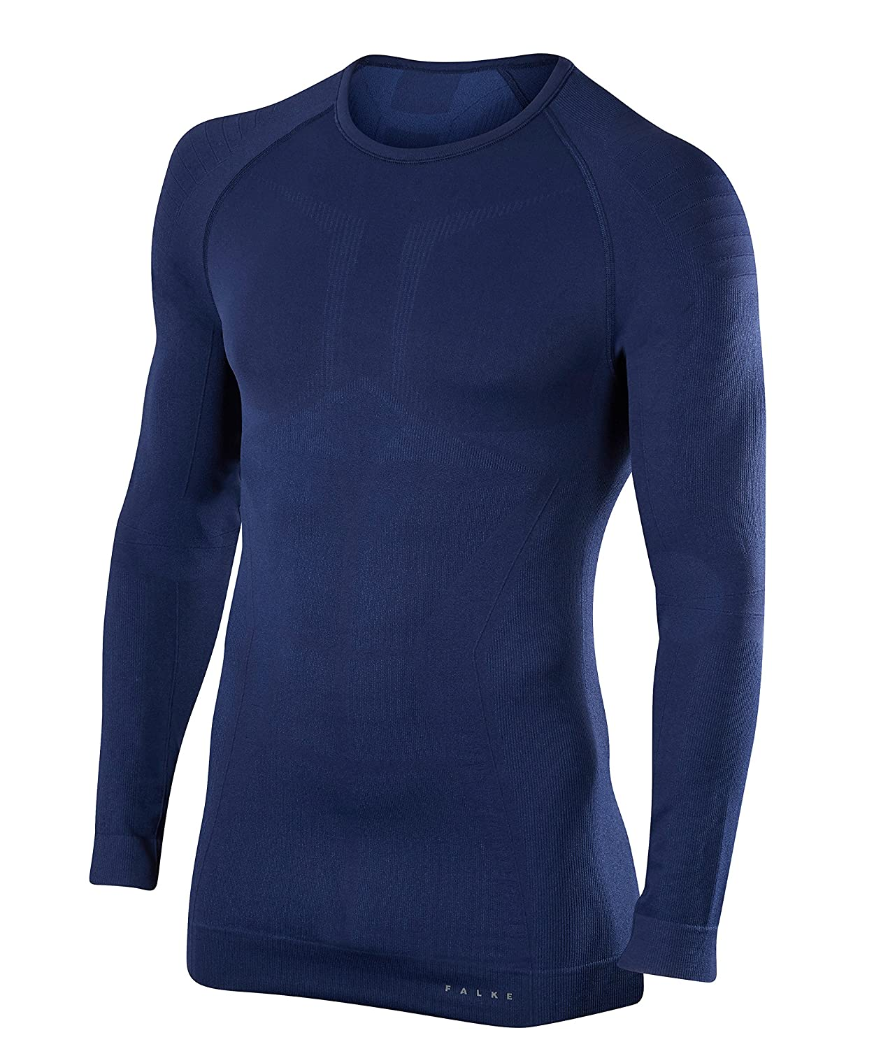 protection in cold to very cold temperatures Sweat wicking FALKE ESS Men Maximum Warm Long Sleeve Close Fit top warm fast drying polyamide mix Sizes S-XXL multiple colours