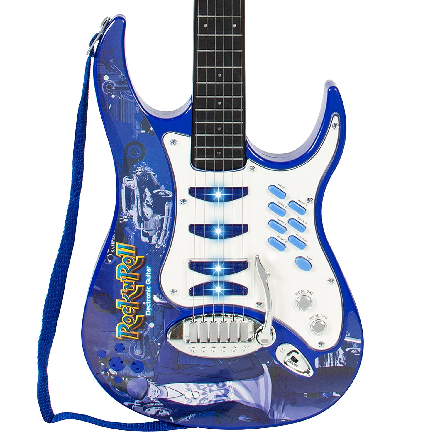 best choice products kids electric guitar play set w