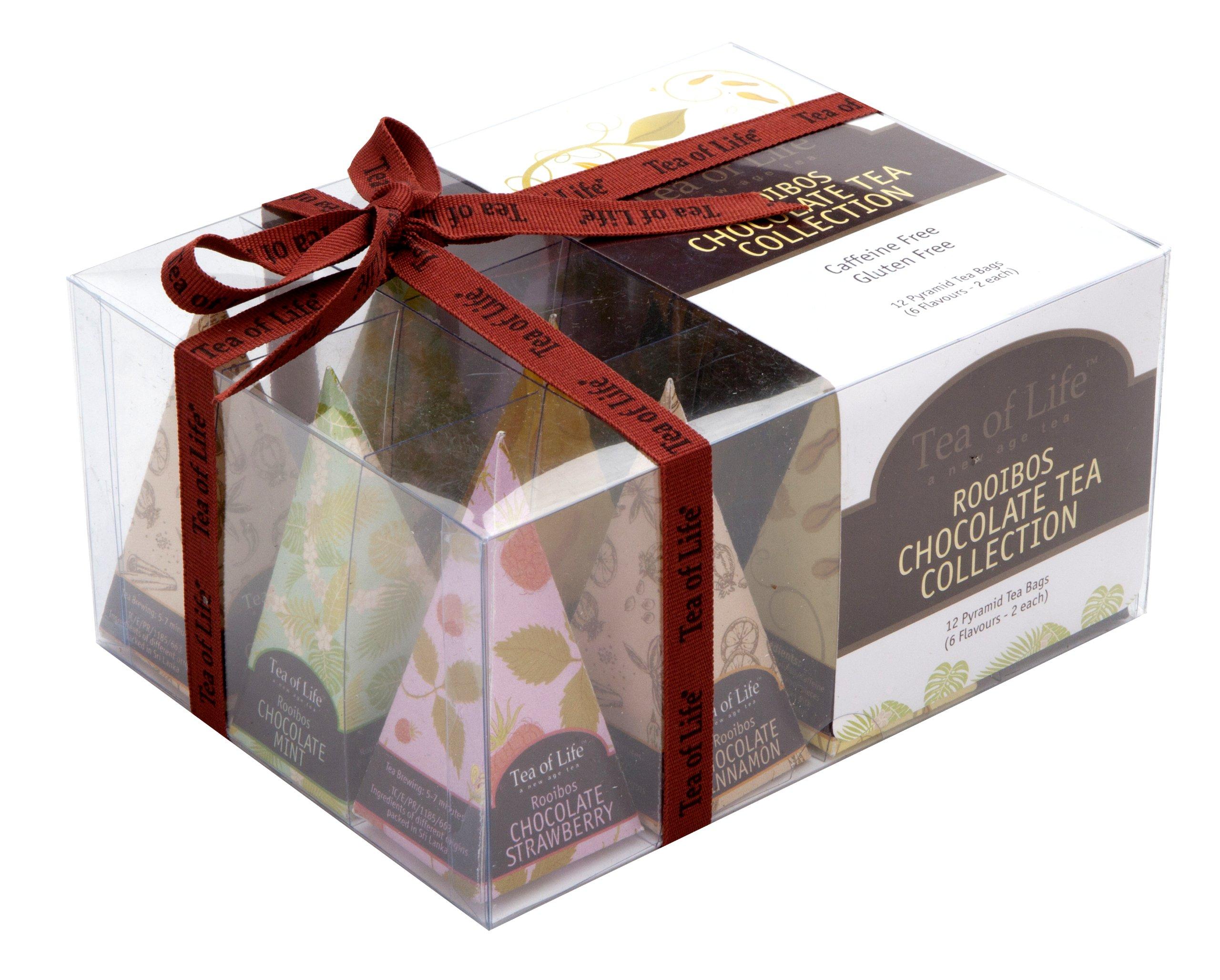 Tea of Life Tea Collection, Rooibos Chocolate, 12 count, 0.85 Ounce