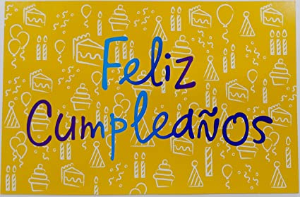 Amazon.com : Feliz Cumpleanos - De Un Ano Espectacular ...