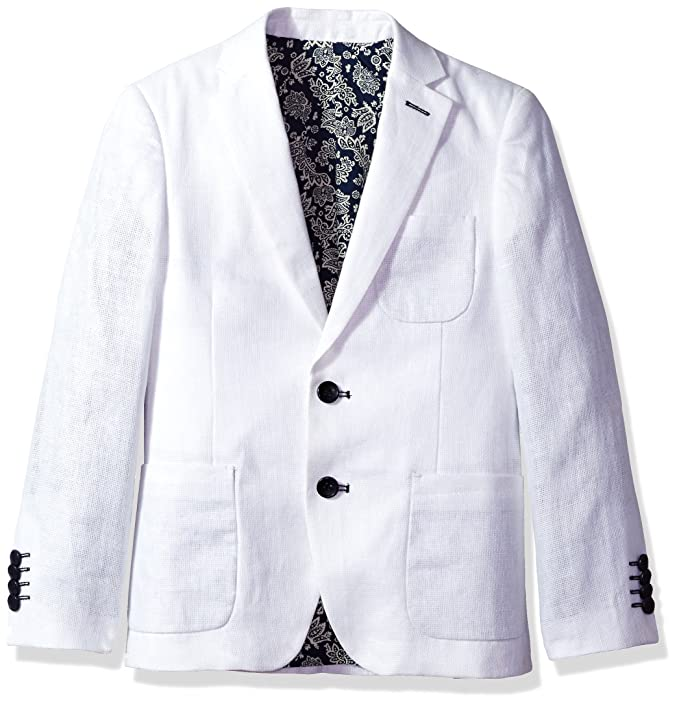 Amazon.com: Isaac Mizrahi Boys Solid Linen Blazer: Clothing