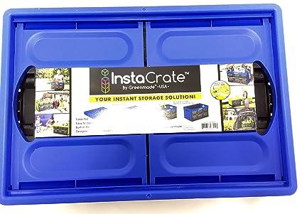 InstaCrate Collapsible   12 Gallon Storage 21u0026quot;L X 14.25u0026quot;W X  11.6u0026quot;H (