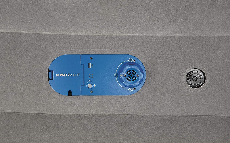 matelas autogonflant avec pompe /électrique int/égr/ée Bestway AlwayzAire lit double 203 x 152 x 46 cm