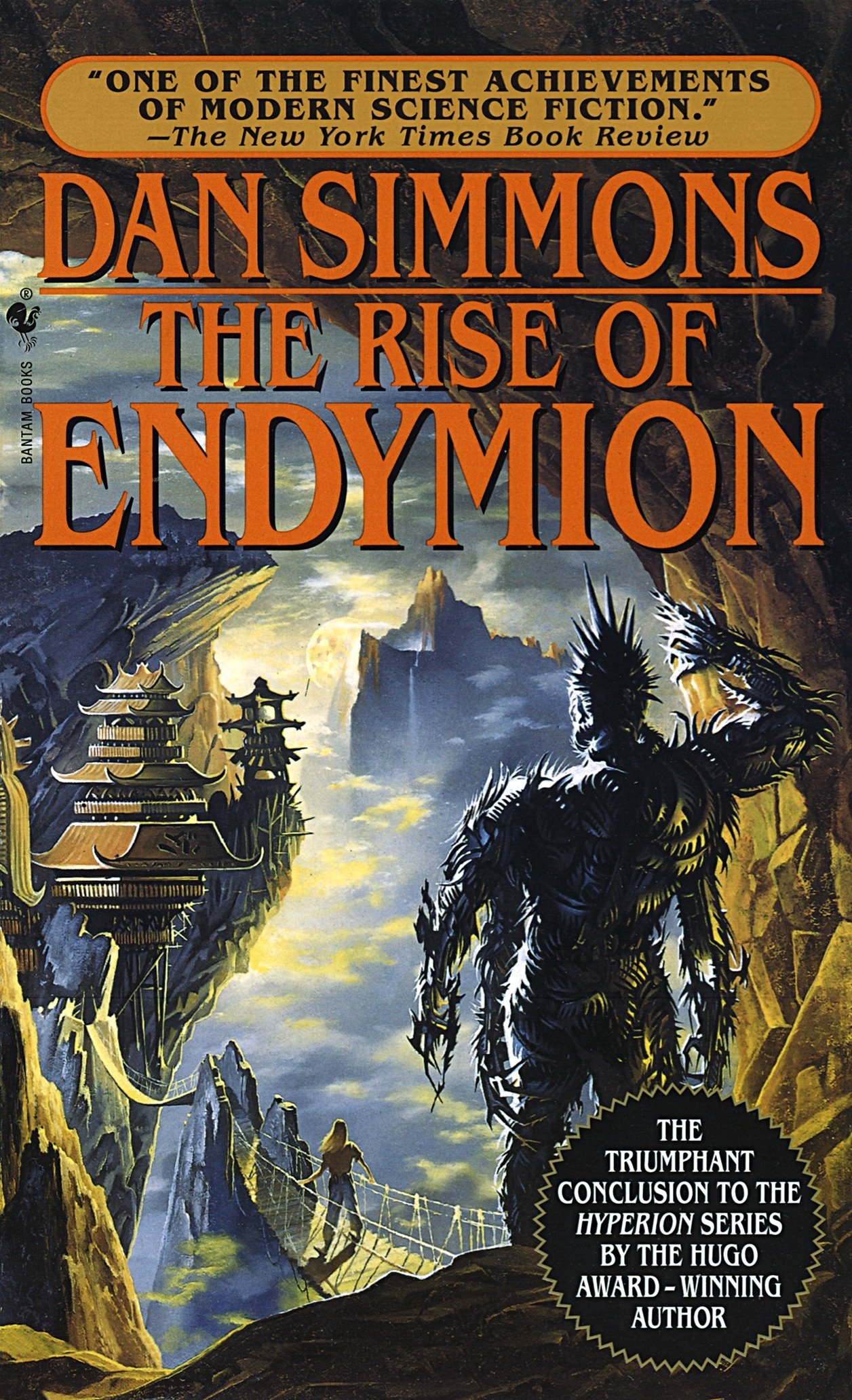 The Rise of Endymion (Hyperion): Dan Simmons: 9780553572988: Amazon.com:  Books