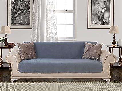 pleasurable designer sofa throws. Anti Slip Armless 1 Piece Sofa Throw Slipcover for Dogs Pets Kids Non  Amazon com