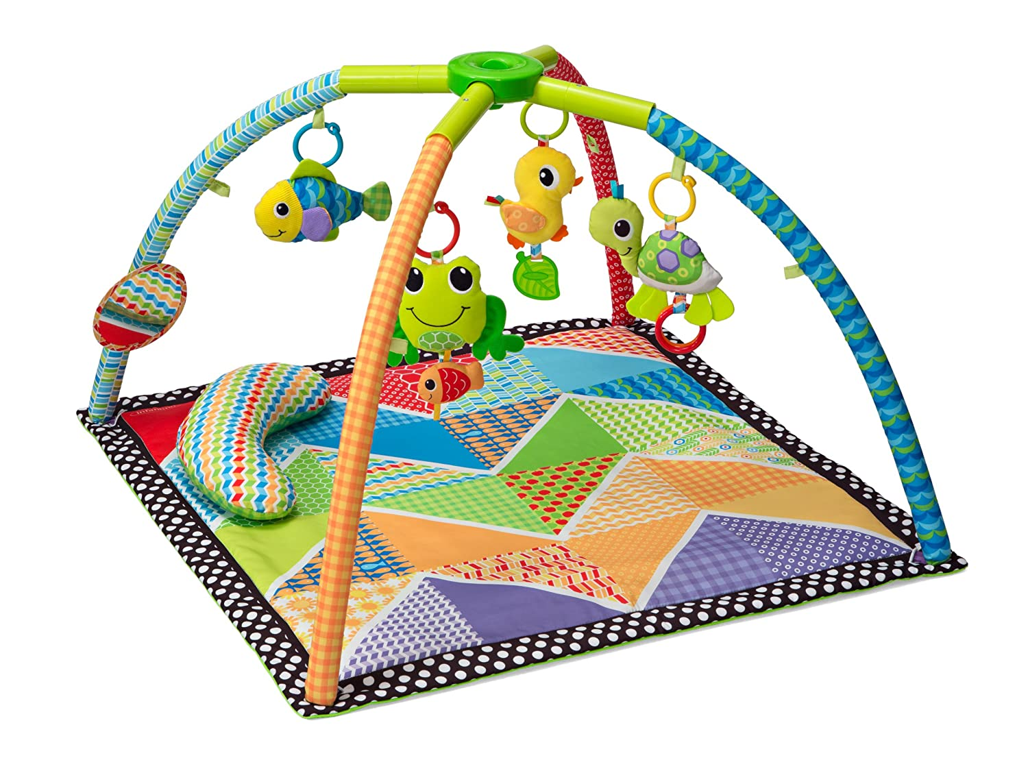 Infantino Twist and Fold Activity Gym, Vintage Boy 206-353
