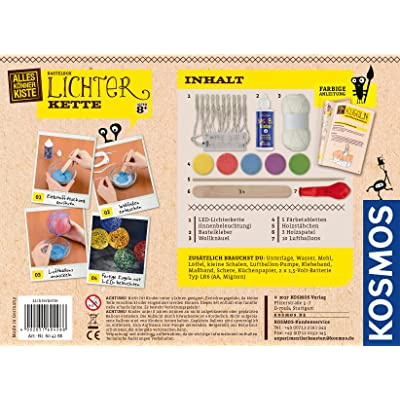 KOSMOS 604288 - Luz Cadena Juego de Manualidades: Juguetes y juegos