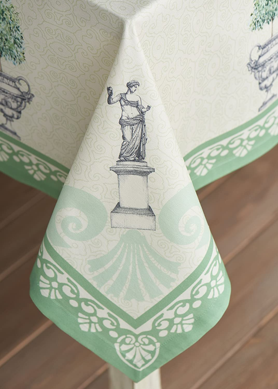 Maison d Hermine Jardin du Roy 100/% Cotton Tablecloth 54 Inch by 72 Inch Aspero FBA/_B01CJBIUMW