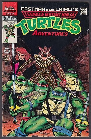 Amazon.com: TEENAGE MUTANT NINJA TURTLES ADVENTURES #31 ...