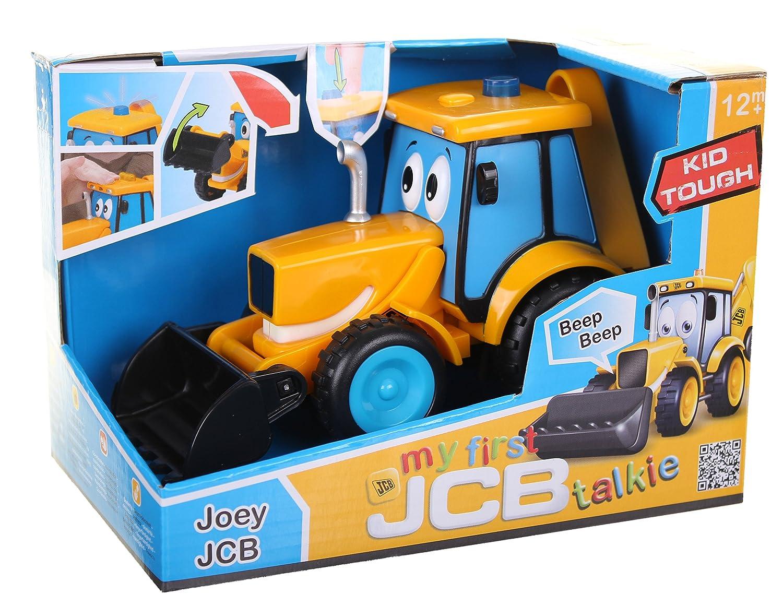 My 1st Talkie Joey JCB 16.5cm by Golden Bear Golden Bear Toys 4013