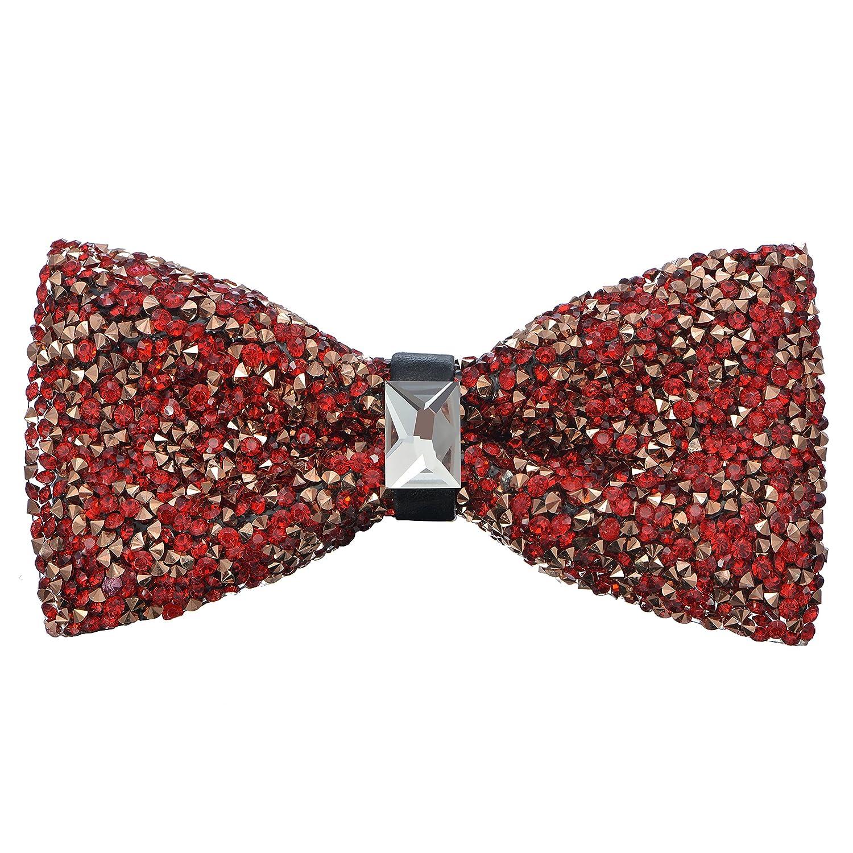 Amazon.com: Pre-Tied Sparkle Bow Tie - Black: Clothing