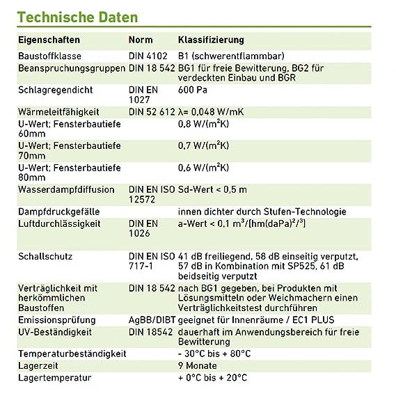 illbruck tp652 illmod trioplex + 77/15 - 30 dichtungs banda impermeabilizante 311625 (a partir de 5,44eur/M): Amazon.es: Bricolaje y herramientas