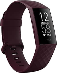 Fitbit Charge 4 Advanced Fitness Tracker with GPS, Heart Rate, Sleep & Swim Tracking - Rosewood