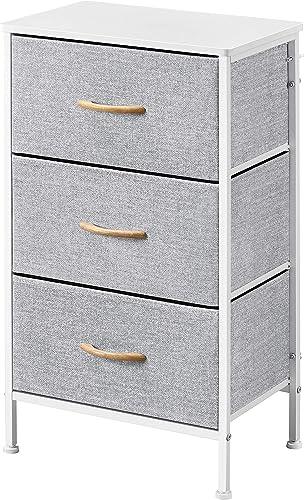 Topeakmart Dresser Tall Storage Tower Nightstand Organizer Unit