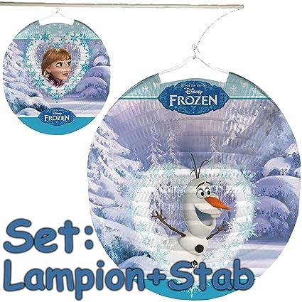 Set: LAMPION + Varilla * Frozen - Anna, Elsa y Olaf * como ...