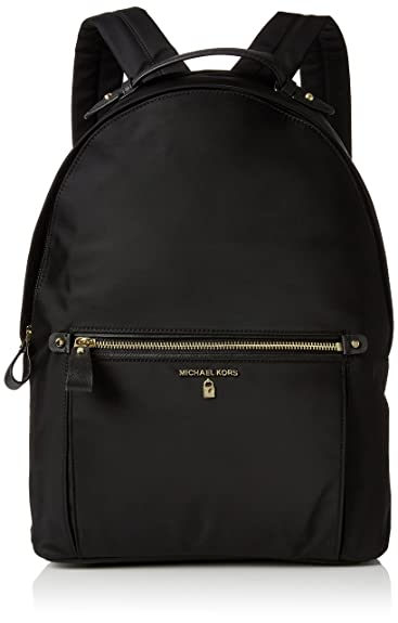 MICHAEL by Michael Kors Kelsey Black Nylon Large Backpack  Amazon.co.uk   Shoes   Bags b1f40b4932c48