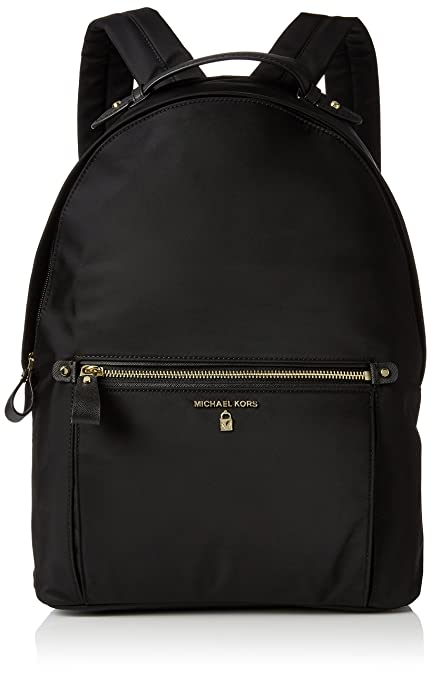 85c6bee91dd2 Michael Kors Women Nylon Kelsey Backpack Handbag, Black (Black): Amazon.co.uk:  Shoes & Bags