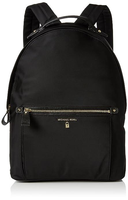 fc1cb312daa694 Michael Kors Nylon Kelsey, Borsa a zainetto Donna, Nero (Black), 13x40x30  centimeters (W x H x L): Amazon.it: Scarpe e borse