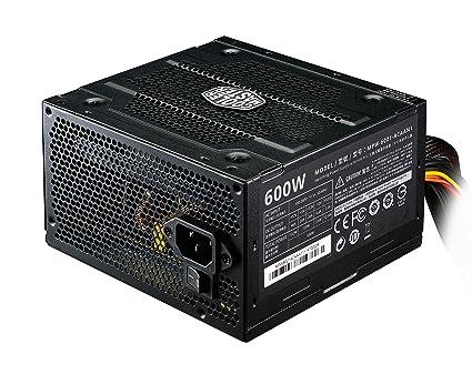 53a76e68c Amazon.com: Cooler Master Elite v3 600 watts ATX Power Supply, Quiet ...