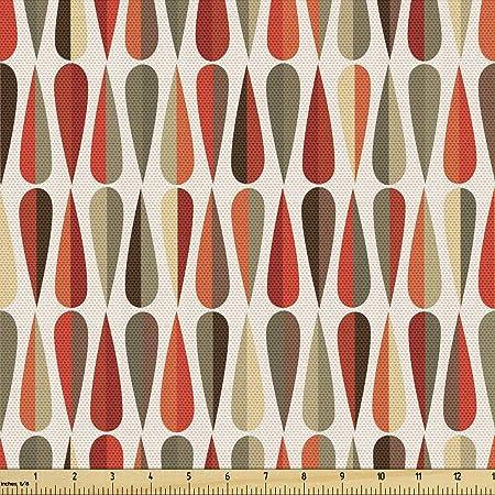 Fun Windows New Old Stock Vintage Fabric 60s Geometric