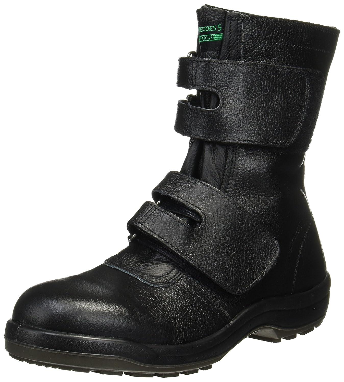 [ミドリ安全] プロテクトウズ5 静電 長編上靴  PCF235マジック静電 B01J4V0AGE 25.0 cm|ブラック ブラック 25.0 cm