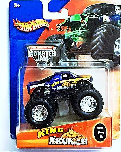 Amazon Com Hot Wheels 2004 Monster Jam King Krunch Monster Truck 7 Toys Games