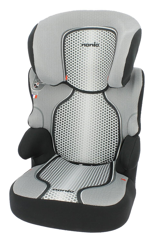 Nania Kinderautositz Kindersitz BeFix SP pop ECE Gruppe 2/3 von 15 bis 36 kg schwarz 3507460038712