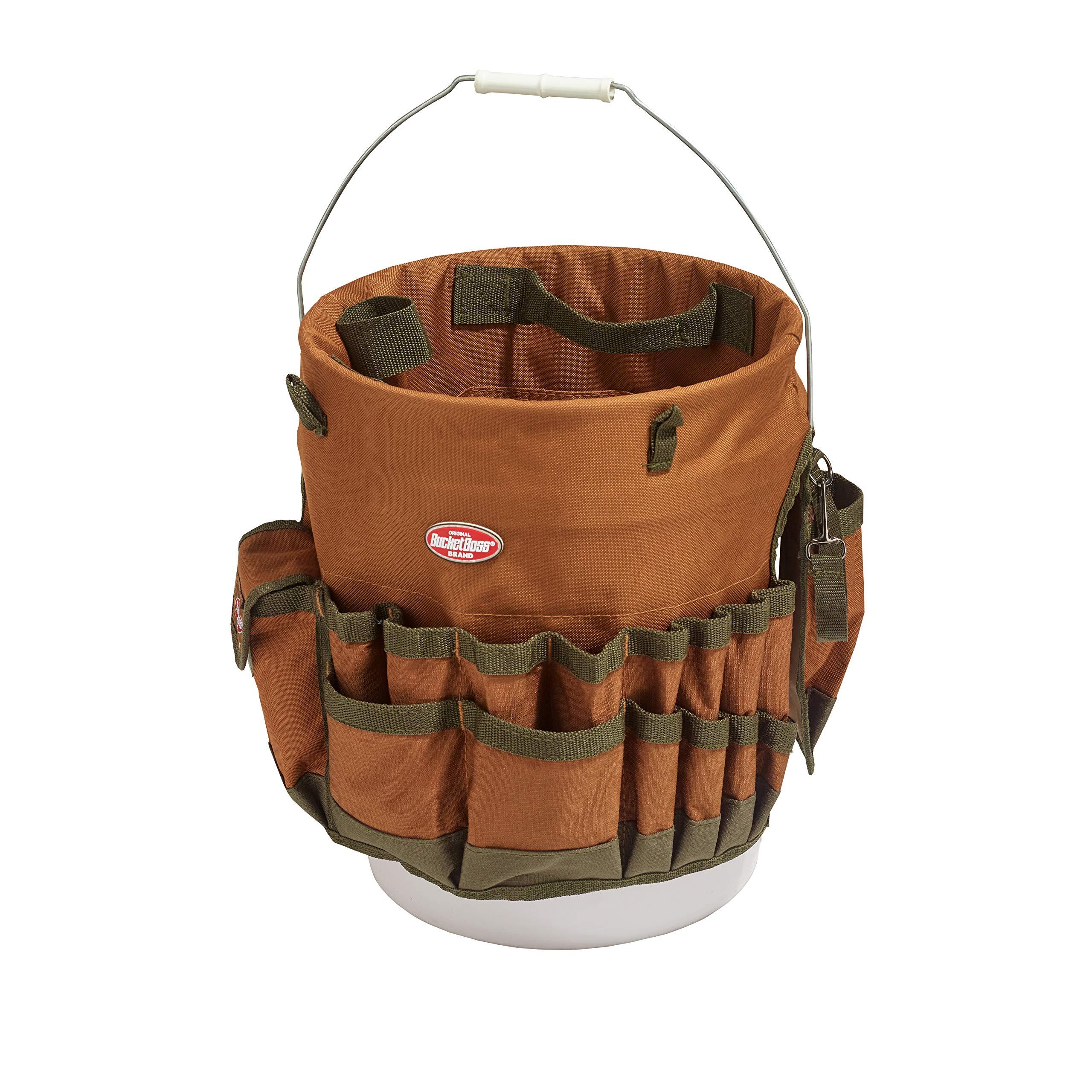 Bucket Boss The Bucketeer Bucket Tool Organizer in Brown, 10030 by Bucket Boss