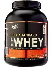 Optimum Nutrition Gold Standard 100% Whey Protein Powder, Double Rich Chocolate, 2.27 Kilograms