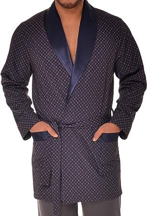 Revise Elegante Vestaglia per Gli Uomini RE-503 Corto//in Due Colori