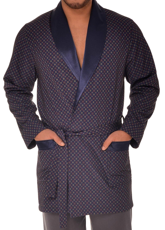 Revise Elegante vestaglia per gli uomini RE-503/Corto/in due colori