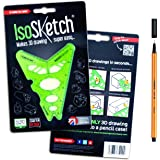 IsoSketch® 3D Drawing Tool (Inc. FREE Stabilo Fine Liner)