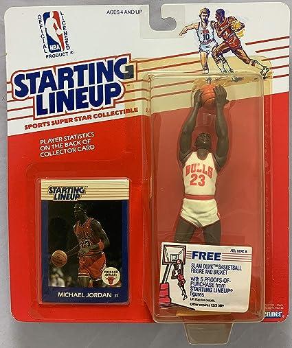 f2467ca2bec 1988 KENNER STARTING LINEUP NBA MICHAEL JORDAN CHICAGO BULLS MOC at  Amazon's Sports Collectibles Store