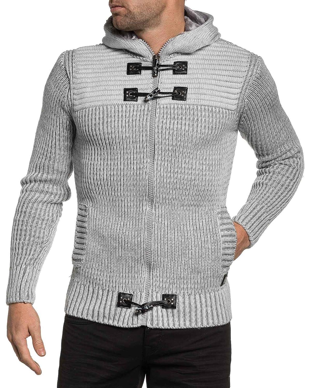 BLZ jeans - ecru jacket ribbed knit man