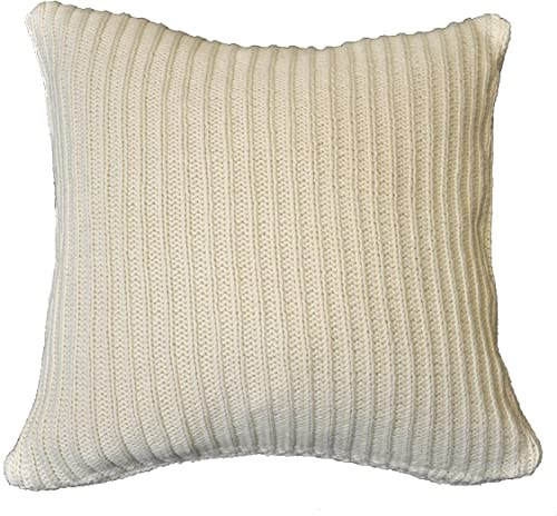 Be-you-tiful Sid Knitted 20 by 20-Inch Pillow