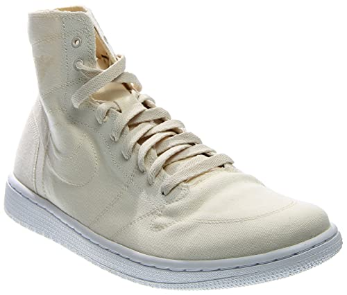 pretty nice 73bdd 6a840 Nike Air Jordan 1 Retro High Decon Mens Basketball Trainers 867338 Sneakers  Shoes (US 12, Natural White 100)  Buy Online at Low Prices in India -  Amazon.in