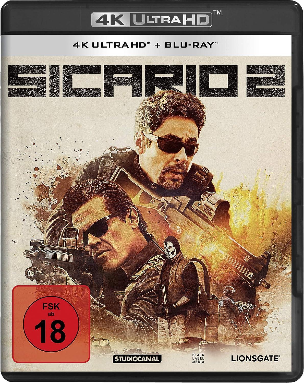 Sicario 2 4k Ultra Hd Blu Ray Amazonde Benicio Del
