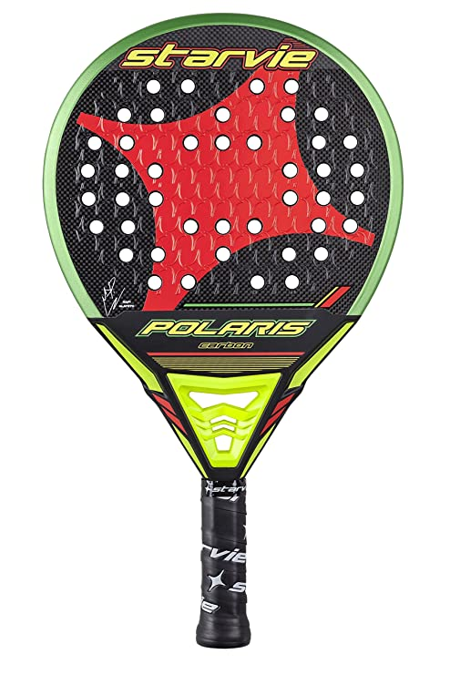 Amazon.com : starvie Polaris Carbon Padel Tennis Racquet, Unisex Adult, Green, 360 gr : Sports & Outdoors