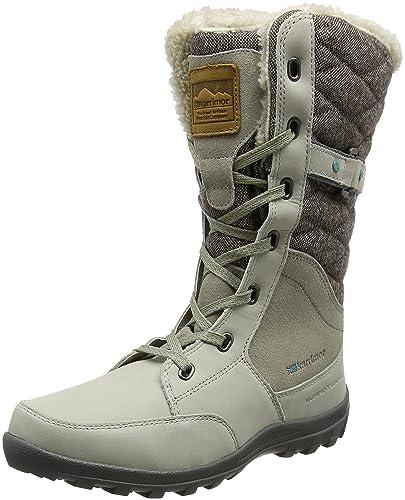 Karrimor Ontario Ladies Weathertite, Chaussures de Randonnée Hautes Femme, Ivoire (Ivory), 38 EU