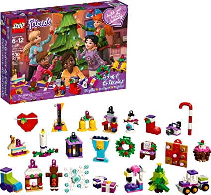 Lego Countdown To Christmas Lego Friends 2020 Set Amazon.com: LEGO Friends Advent Calendar 41353, New 2018 Edition