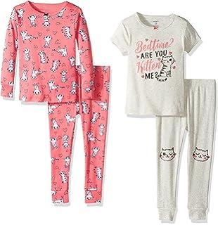 45eb966c5371 Amazon.com  Hooyi Baby Girl Sleepwear Cotton Children Christmas ...