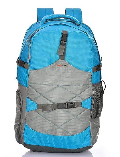 Buy Trackpack 40ltrs 50cms Rucksack For Hiking Trekking/ Backpacks For Women/Men  + Rain Cover (RUCKFP40_Blue)) at Amazon.in
