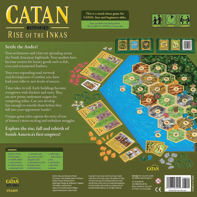 Catan Studios CN3205 Catan: Rise of The Inkas, varios colores , color/modelo surtido: Amazon.es: Juguetes y juegos