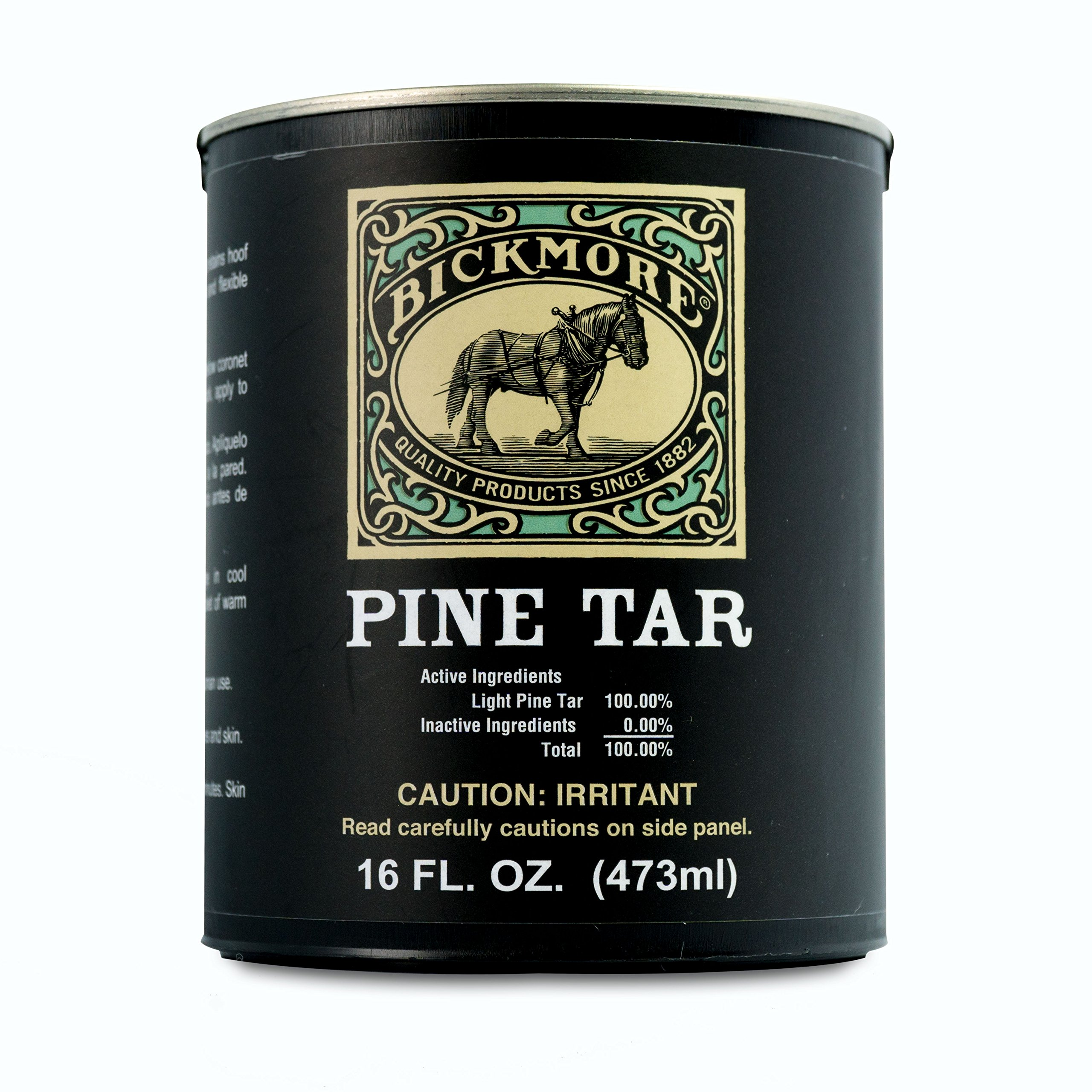 Bickmore Pine Tar 16oz - Hoof Care Formula For Horses by Bickmore