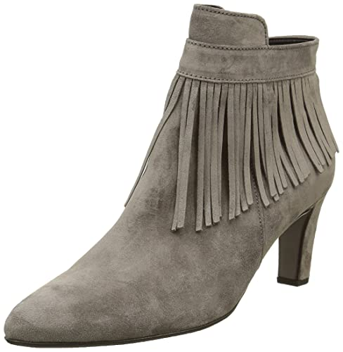 Gabor Shoes Gabor Fashion, Botines para Mujer, Gris (Wallaby 13), 37 EU: Amazon.es: Zapatos y complementos