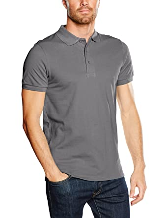 Mick Morrison Polo - Manches Courtes Homme - Rouge - Small hnvGXBoPr