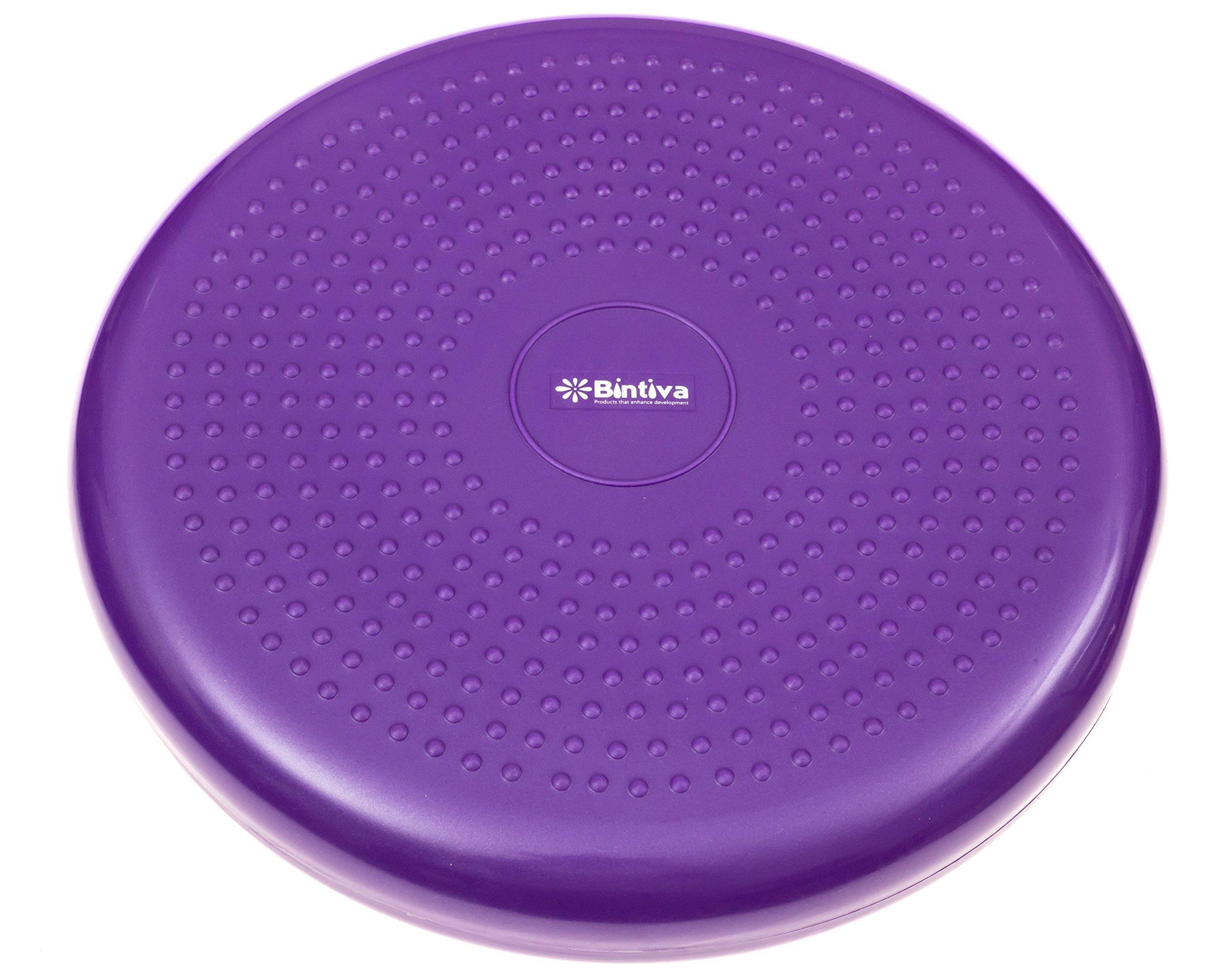 bintiva round balance disc purple 33cm by bintiva (Image #2)