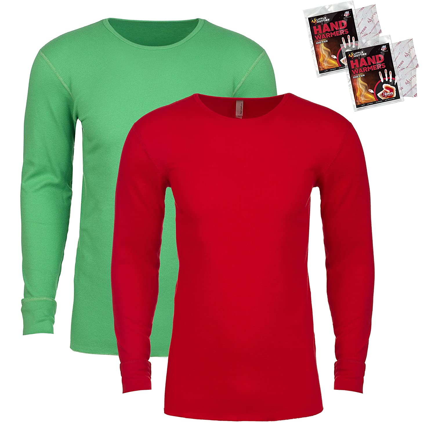 Next Level Men's Long Sleeve Thermal Shirt (Pack of 2)