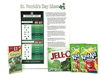 Amazon.com : St. Patrick\'s Day Green Food Items and Ideas Prank Kit ...